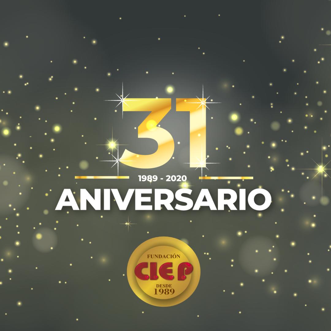 Hoy, CUMPLIMOS 31 AÑOS AL SERVICIO DE LA EDUCACIÓN.
