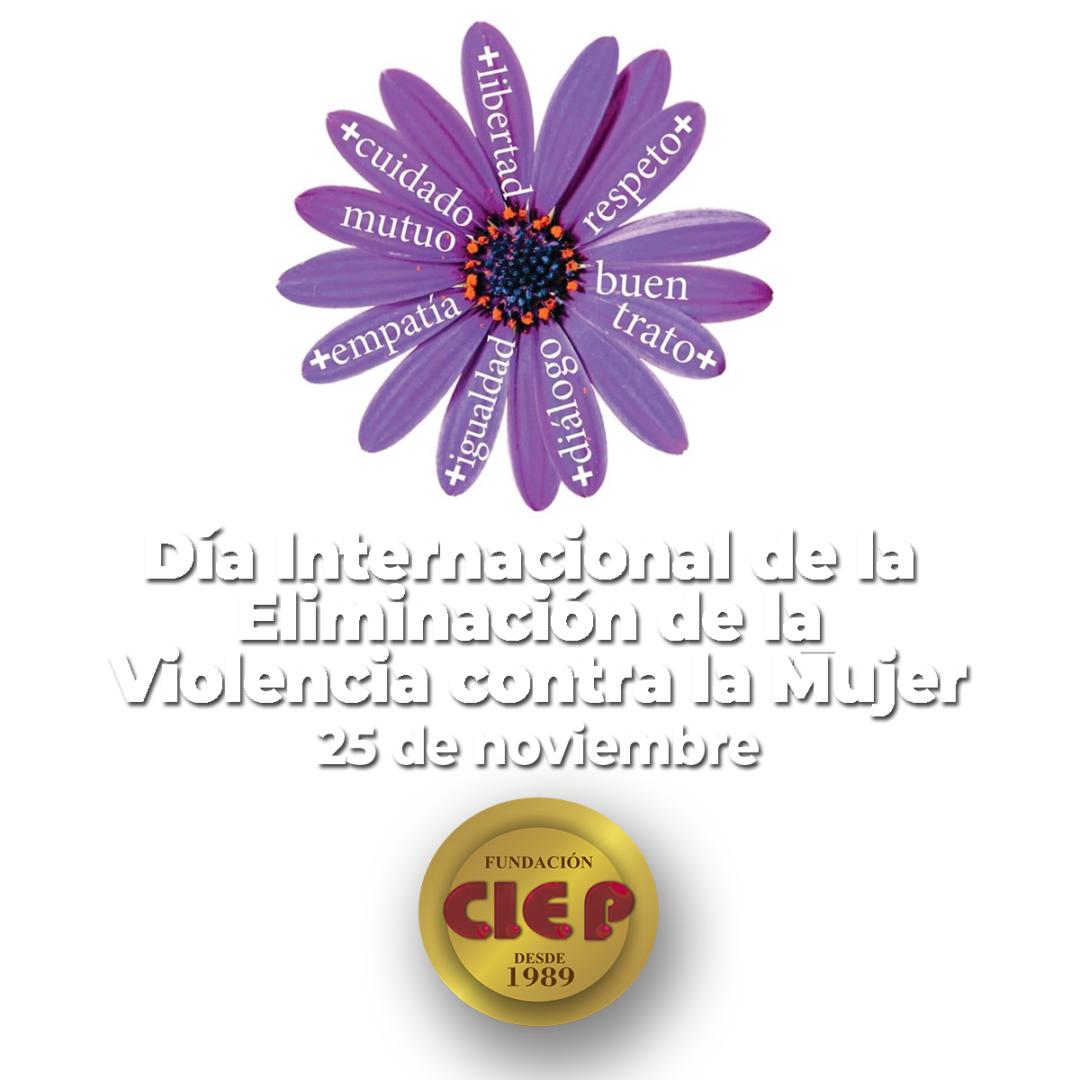Día Internacional de la Eliminación de la Violencia contra la Mujer.